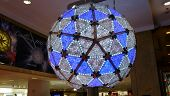stock photo of dick  - the New Years Eve Ball being held at Macy - JPG