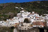 White village, Torvizcon, Las Alpujarras, Spain.