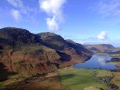 Buttermere And Surrounding Fells