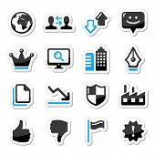 Internet-Web-Icons set Vektor