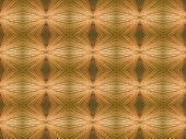 Kaleidoscope Symmetrical Abstract Wooden Background.