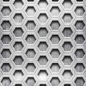 honeycomb metal grid