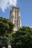 Saint-Jacques Tower (Tour Saint-Jacques), the 4th arrondissement of Paris, France