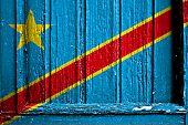 Kongo Kinshasa flag