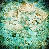 Abstract old background with grunge texture. For art texture, grunge design, and vintage paper or bo