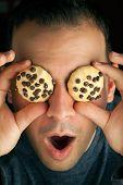 Crazy Cookie Eyed Man