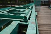stock photo of gusset  - Bolts on a Bridge  - JPG