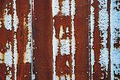Old Rusty Wall