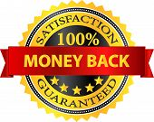 Money Back Satisfaction Guaranteed Badge