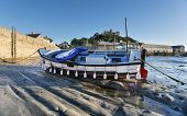 Boat At St Michael's Mount