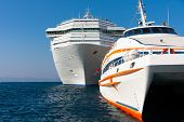 Large Luxury Passenger Ships
