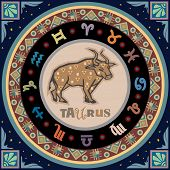 Stylized Zodiac Signs series