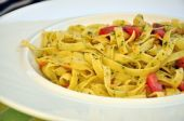 Tagliatelle With Tomatoes And Herbs
