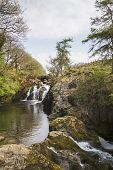 Waterfall In The Yorkshire Dales