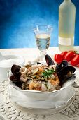 sea fruits risotto