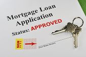 Approved Real Estate Mortgage Loan Document Ready For Signature