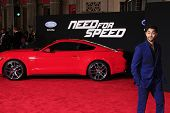 LOS ANGELES - MAR 6: Manish Dayal at the premiere of DreamWorks Pictures' 'Need For Speed' at TCL Chinese Theater on March 6, 2014 in Los Angeles, California