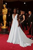 LOS ANGELES - MAR 2:: Lupita Nyong'o  at the 86th Annual Academy Awards at Hollywood & Highland Cent