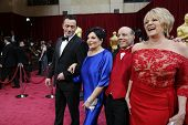 LOS ANGELES - MAR 2:: Liza Minelli, Lorna Luft  at the 86th Annual Academy Awards at Hollywood & Hig