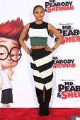 LOS ANGELES - MAR 5: Mel B at the premiere of 'Mr. Peabody & Sherman' at Regency Village Theater on March 5, 2014 in Los Angeles, California