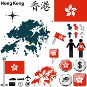 Map Of Hong Kong