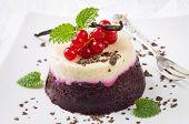 red currant gelatin