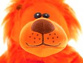 Stuffed Animal Lion Sitting