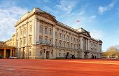 London - Jan 10 : Buckingham Palace Pictured On January 10Th, 2014, In London, Uk. Built In 1705, Th