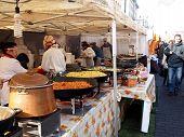 Trading Food In Annual Traditional Crafts Fair - Kaziuko Fair