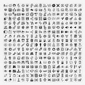 324 Vector Doodle Web Icons