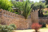 Medieval City Walls Of Toledo