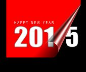 Happy new year 2015 design card