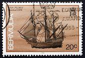 Postage Stamp Bermuda 1986 San Pedro, Shipwreck