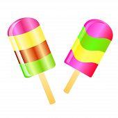 Ice Cream Lolly Background
