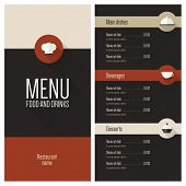 stock photo of diners  - Restaurant menu - JPG