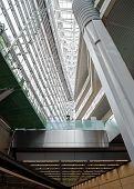 TOKYO - NOV 20: Interior of Tokyo International Forum, Tokyo, Japan