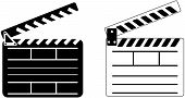 Cinema Clapper - Vector