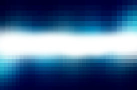 image of prism  - Colorful geometric pixel background with squares - JPG