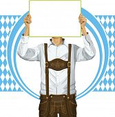 foto of lederhosen  - Idea concept - JPG