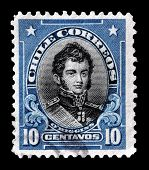 Chile stamp 1911