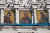 Mosaic Icons On Gate Church Of Simeon And Anna