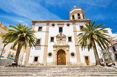 Church la Merced in Ronda Malaga Andalusia Spain.