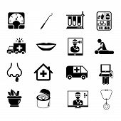 medical service icons
