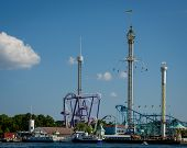 Grona Lund amusement park in Stockholm