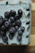 Blueberries on Basket