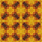 Glass Mosaic Kaleidoscopic Seamless Generated Hires Texture