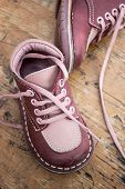 Kid's Leather Shoes