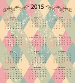 calendar 2015 design background