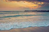 Amazing Sunrise At The Seaside