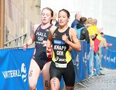 Anja Knapp And Lucy Hall
